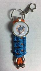 Miami Dolphins Handmade Keychain