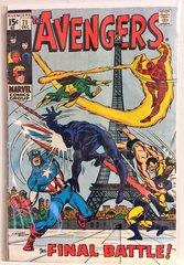 The Avengers #71 1969 Comic
