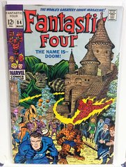 Fantastic Four #84 1969 Comic (VG+) (Dr. Doom App)