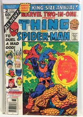Marvel Two-In-One Presents The Thing and Spider-Man #2 King Sized Annual 1977