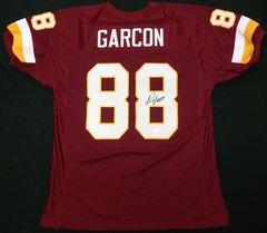 Pierre Garcon Redskins Autographed Jersey JSA COA