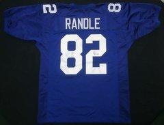 Rueben Randle Giants Autographed Jersey JSA COA