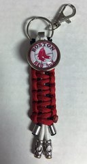 Boston Red Sox Handmade Keychain