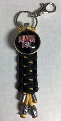 Pittsburgh Pirates Handmade Keychain