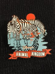 "Walt Disney World Animal Kingdom ""Grants Zebra"" Event Pin"