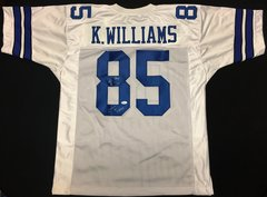 Kevin Williams Cowboys Autographed Jersey 2x Superbowl Champ JSA COA