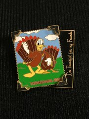 Walt Disney World Donald Duck 2002 Thanksgiving Pin