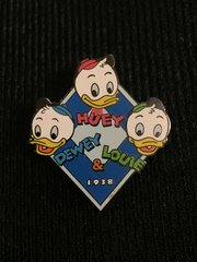 Huey, Dewey & Louie Disney 1938 Pin