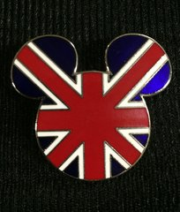 Walt Disney World Union Jack Pin
