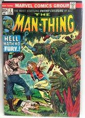 The Man-Thing #2 1974 Comic (VF)
