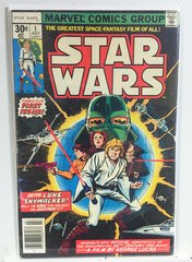 "Star Wars Comic #1, 1977 ""Fabulous First Issue"" (F+)"