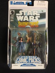 "Star Wars Comic Packs Leia Organa & Prince Xizor ""Shadows of the Empire #4"" Comic (2008)"