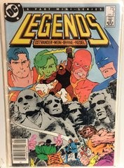 Legends #3 1987 Comic (F/VF) (1st app of NEW SUICIDE SQUAD)