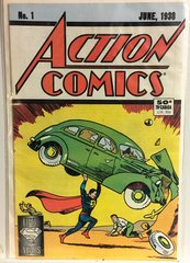Action Comics #1 Fifty Year Anniversary Edition Reprint 1988 (