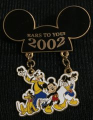 Ears To You: 2002 Walt Disney World Pin