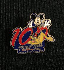 Walt Disney World 100 Years of Magic Mickey & Pluto Pin