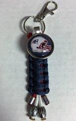 New England Patriots Handmade Keychain