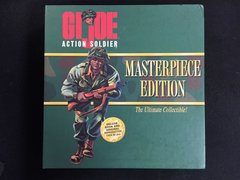 "G.I. Joe 1996 Masterpiece Edition Action 12"" Soldier and Book"