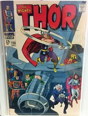 The Mighty Thor #156 1968 Comic (G/VG)