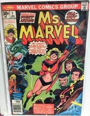 Ms. Marvel #1 1977 Comic