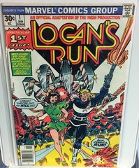 Logan's Run #1 1977 Comic (F/VF)