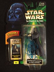 Star Wars Emperor Palpatine The Power of the Force Figure (1998)