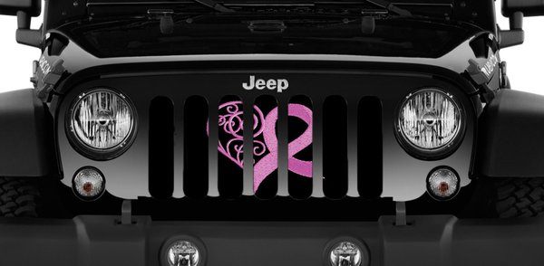 Dirty Acres Grille Inserts Pink Edition