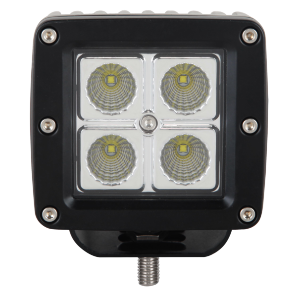 "UBLights LED, Work Lamp, Square, 3.25""W Flood Beam"