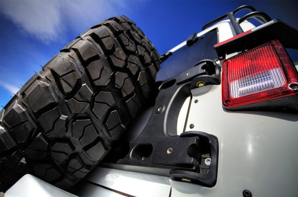 TeraFlex JK Alpha HD Hinged Carrier & Adjustable Tire Mounting Kit 4838150