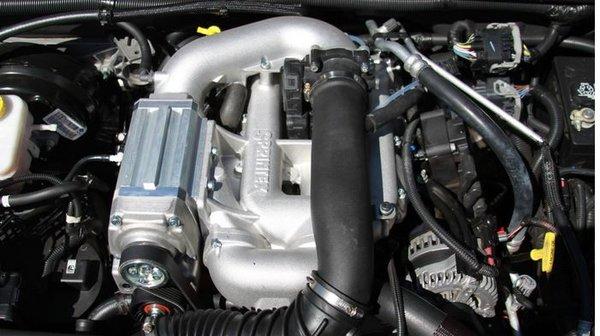 JEEP 07-11 JK WRANGLER SUPERCHARGER 3.8L V6 WITH TUNER