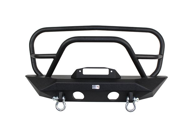 Fishbone offroad Manowar JK Front Winch Bumper with Grille Guard