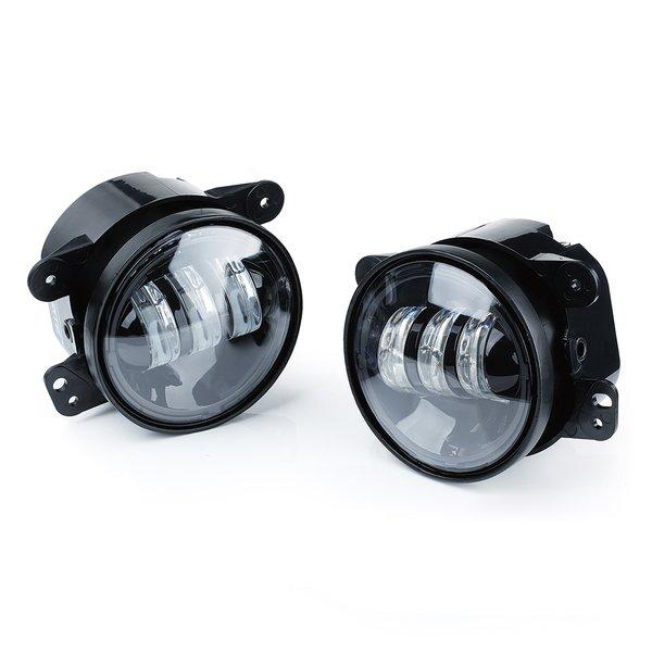 "Jeep Wrangler 4"" 60W CREE LED Fog Lights white or amber"