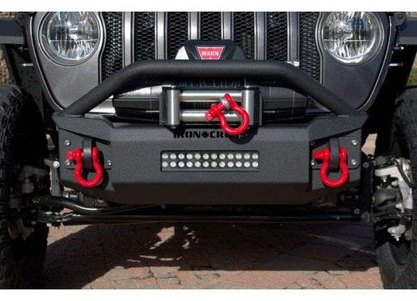 Iron Cross 18-C WRANGLER JL STUBBY FRONT BUMPER WITH BAR