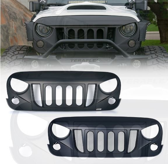 Transformer Grille for Jeep Wrangler 2007-2017