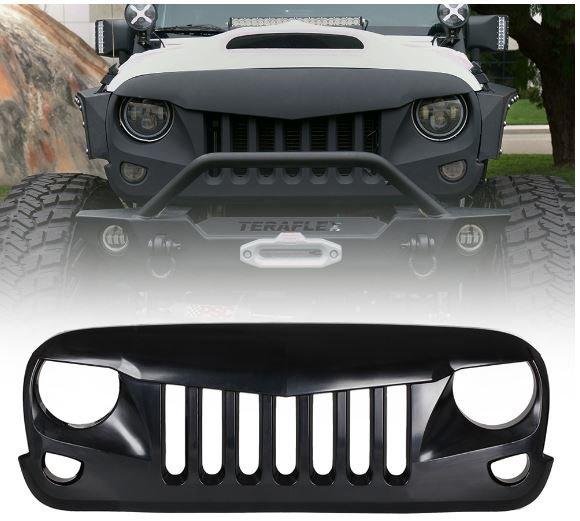 Eagle Eye Grille for Jeep Wrangler 2007-2017
