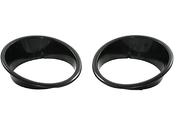 Headlight Bezels, Black; 07-16 Jeep Wrangler JK 12419.25
