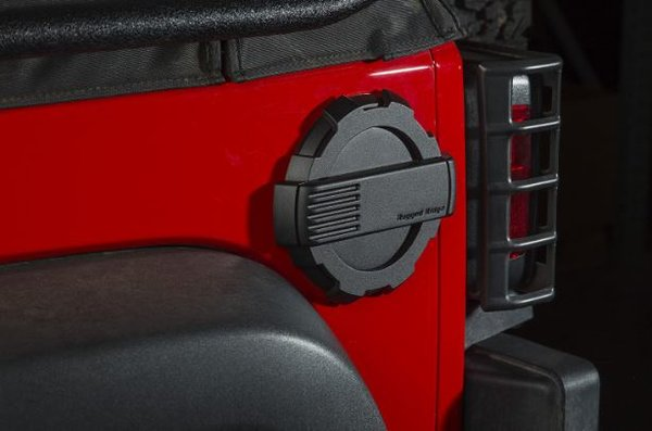 RUGGED RIDGE ELITE FUEL DOOR 07-16 WRANGLER