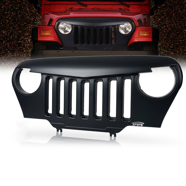 Angry Bird Grille for Jeep Wrangler TJ 1997-2006