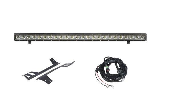 "50"" Light Bar Combo Single Row & Hyline Windshield Mounts 2007-2017 wrangler"