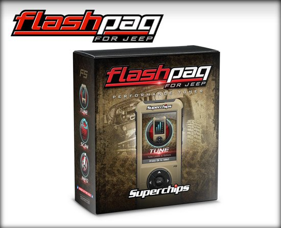 Superchips PERFORMANCE TUNER/CHIP JEEP 15-16 GAS FLASHPAQ F5 3876