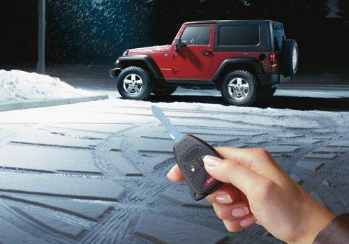 Compustar Remote Start for Jeep Wrangler 2007-2018 3x lock factory remote