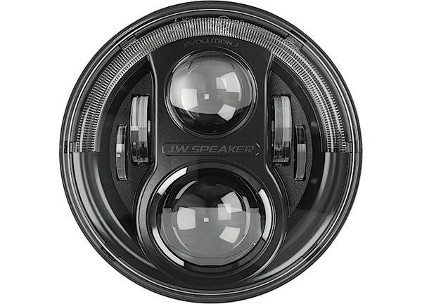 "JW SPEAKER LED Headlights Model 8700 Evolution J  7"" Round LED Jeep Lights 0551131"