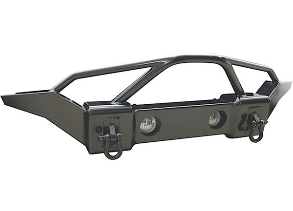 RAMPAGE RECOVERY BUMPER FRONT WITH STINGER 07-C WRANGLER JK 88510