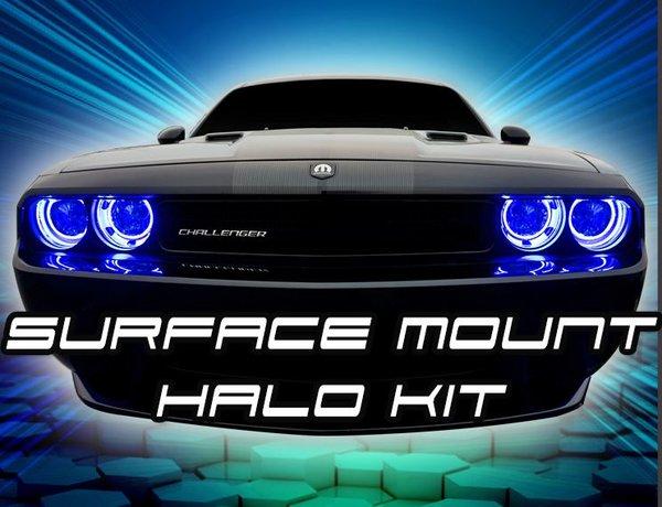 Oracle LED Halo Headlight Kits 08-14 Dodge Challenger