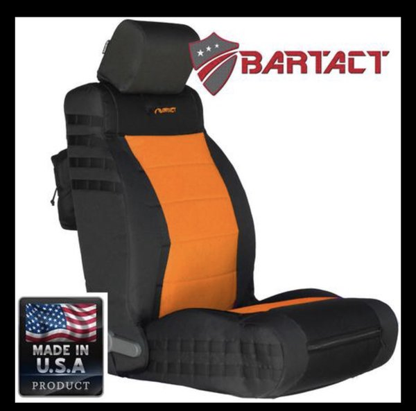 BARTACT MIL-SPEC JEEP WRANGLER 2011-2012JK Front SEAT COVERS (pair)
