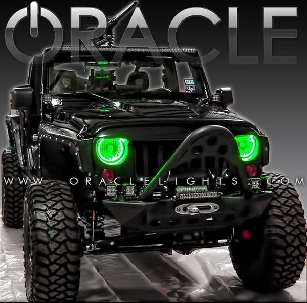 Oracle LED Halo Headlight Kits 07-16 Jeep Wrangler  3943