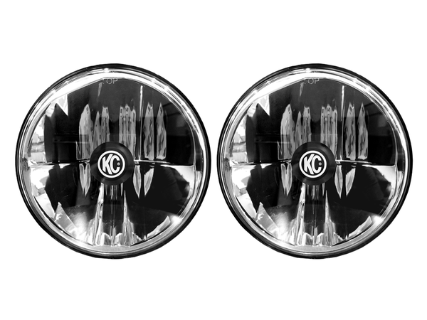 "KC GRAVITY LED 7"" HEADLIGHT PAIR PACK SYSTEM - DOT 42351"