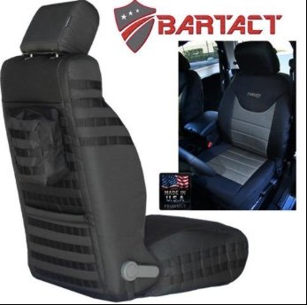 BARTACT MIL-SPEC JEEP WRANGLER 2013-2017 JK Front SEAT COVERS (pair)