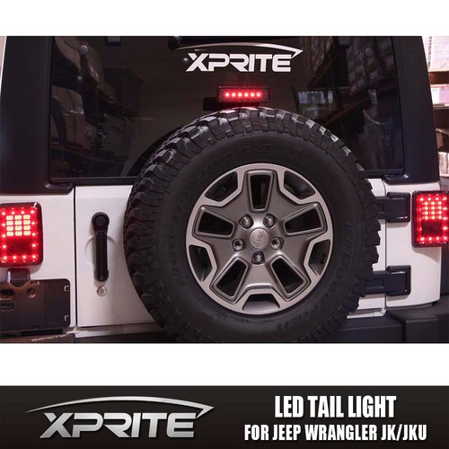 LED G1 Taillights and Brake Light Combo For 07-17 Jeep Wrangler