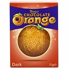 TERRYS DARK CHOCOLATE ORANGE